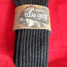 1 Pair Large Clear Creek Triple Cushion Nonbinding Top Cotton Sock 10-13 USA
