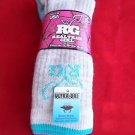 2 Pair Medium Real Tree 20% Wool Hiker Work Boot Socks 6-9 Arch Support Made USA