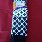 3 Pair Womens Medium Gold Medal Knee High Socks Soft Durable Black White 9-11