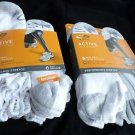 12 Pair Extra Large Champion King Size Active Performance No Show Socks 12-14