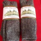 4 Pair Timber Trail 15 % Wool Ragg Crew Boot Thermal Sock 9-11 Made in USA
