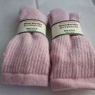 2 Pair Pocono 82% Merino Wool Hiker Women Socks USA Shoe 5-10 Pink