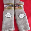 2 Pair Carolina Ultimate 40% Merino Wool TallOver Calf Work Sock Large 9-11 USA