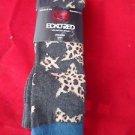 3 Pair Ecko Red Fashion Knee High Girls Durable Cheetah Star Fits Shoe 6-3 1/2