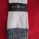 1 Pair Large Marc Ecko Cut & Sew Cotton Crew Socks 6-12 White