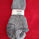 1 Pair Large Pocono 78% Alpaca Low Profile Low Cut Heel Guard Sock 9-12 USA