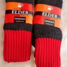 2 Pair Large Elder 20 % Wool Thermal Hi Visibility Boot Sock 10-13 Made in USA