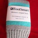 1 Pair Foot Smart Acrylic Wool Mid Calf Women Boot Sock Non Binding Top 6-10 USA