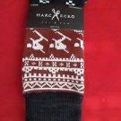 1 Pair Large Marc Ecko Cut & Sew Cotton Crew Socks 6-12 Skier