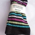 1 Pair Pocono 82%  Merino Wool Hiker Women Socks USA Shoe 5-10 Pink toe