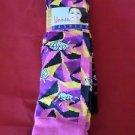 3 Pair Womens Medium Gold Medal Knee High Socks Soft Durable Diamond 9-11