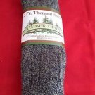 2 Pair Timber Trail 15 % Wool Ragg Crew Boot Thermal Sock 9-11 Made in USA