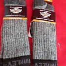 2 Pair Harley Davidson 70% Merino Wool Boot Performance Riding Sock 9-13