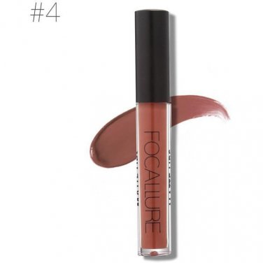 Hot Focallure #4 Frence Beige Authentic Waterproof Matte Liquid Lipstick FREE SHIPPING