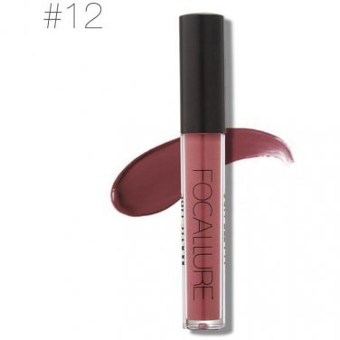 Hot Focallure #12 Rose Valet Authentic Waterproof Matte Liquid Lipstick FREE SHIPPING