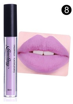 Hot Authentic #8 Velvet Liquid Matte Lipstick by Miss Young (R) Cosmetics FREE SHIPPING SALE 40% OFF