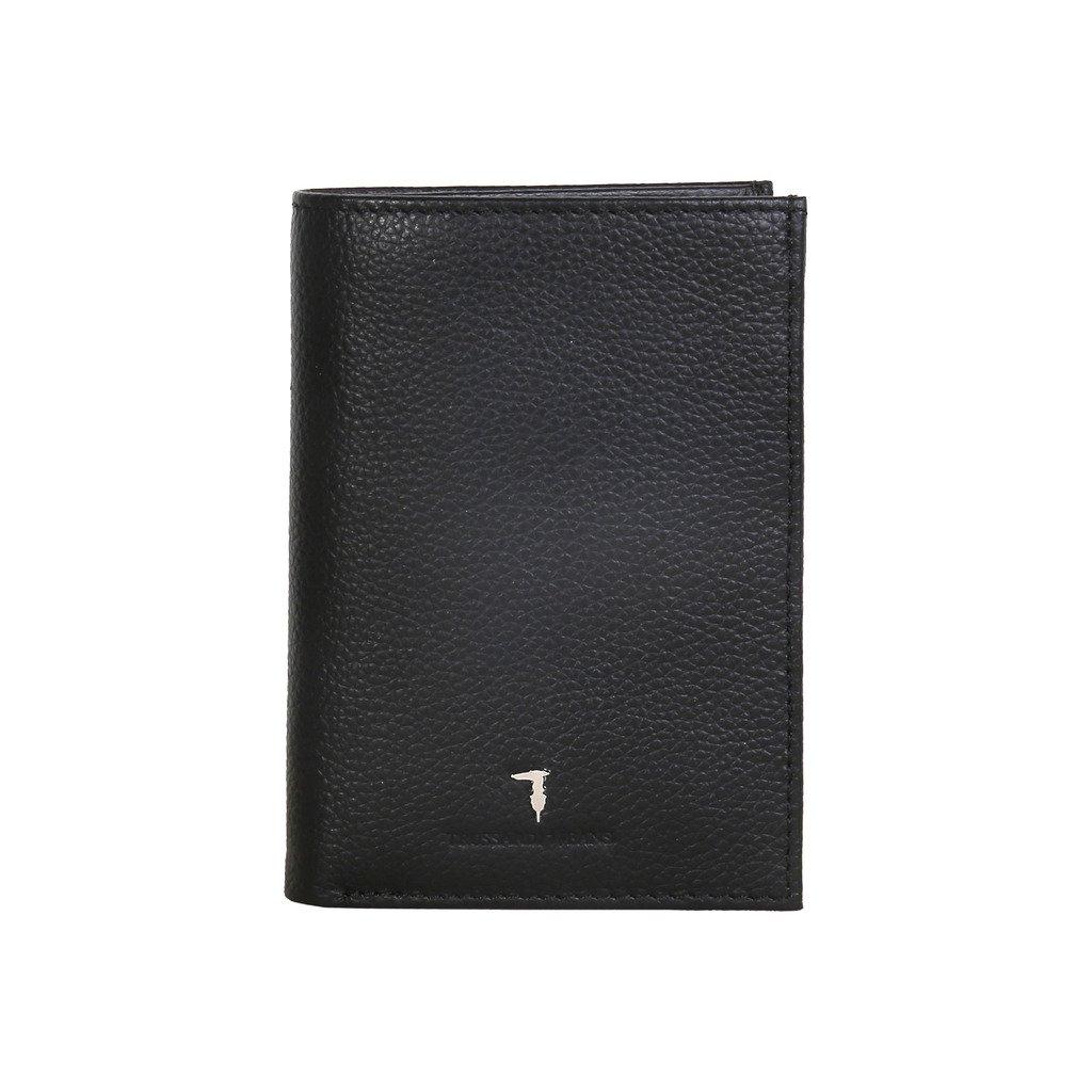Trussardi Jeans 71P020J6XX Men's Vertical Wallet, Black