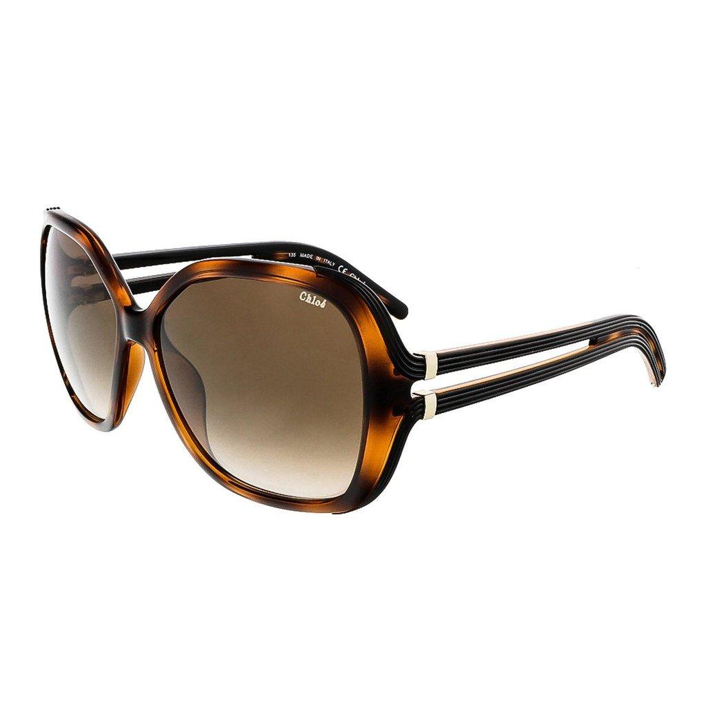 Chloe CE650S-219 Women's Sunglasses, Tortoise Brown