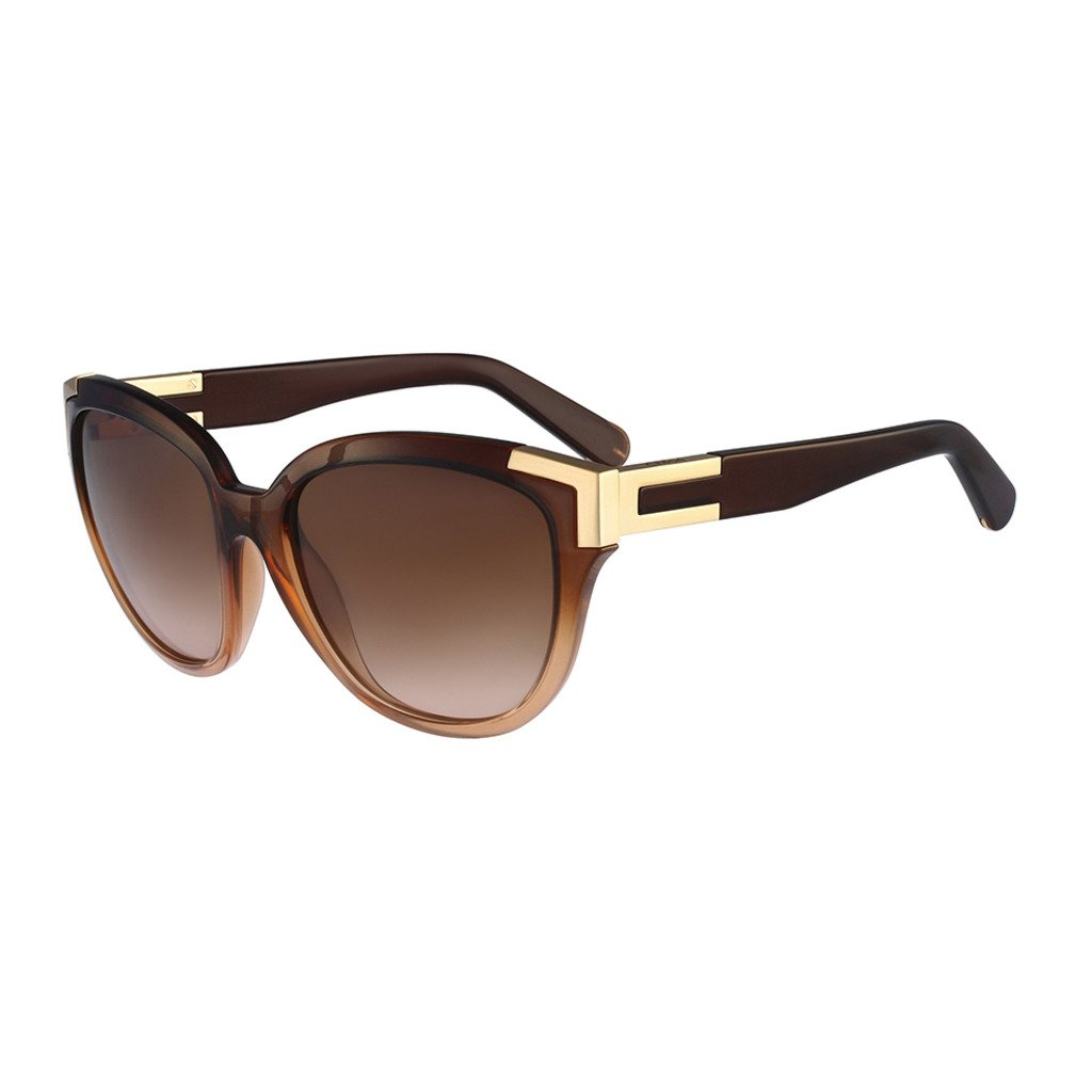 Chloe CE635S-248 Women's Sunglasses, Light Brown