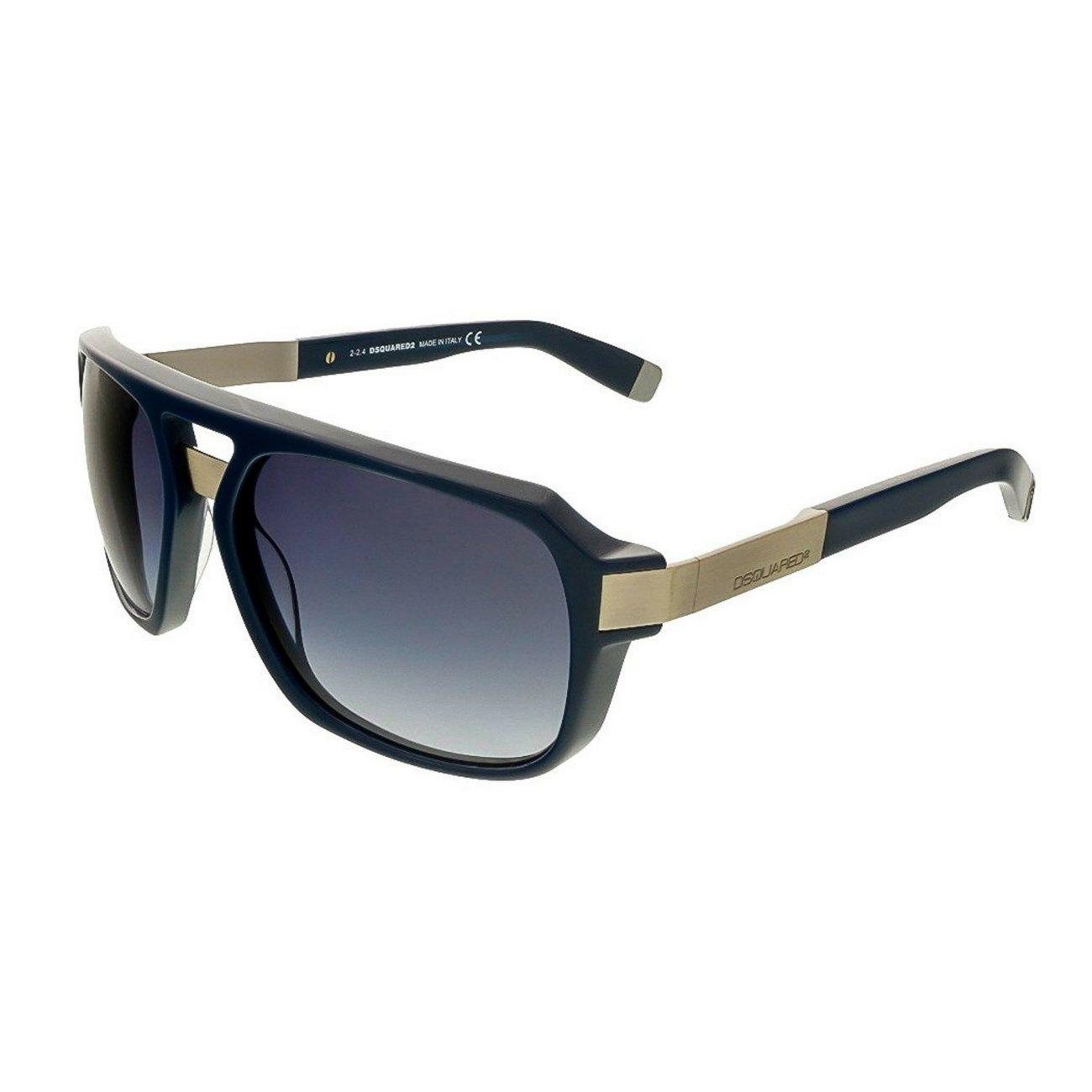 Dsquared DQ0028S-90W Men's Sunglasses, Blue