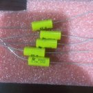 5x IC 1UF 1MFD 100V 1.0UF AXIAL POLYESTER FILM CAPACITOR 1.50MKT