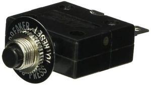 "NTE Electronics R58-15A Series R58 Thermal Circuit Breaker, 250"""