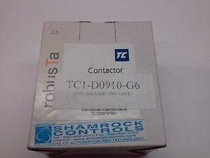 35917 New In box, Shamrock Controls TC1-D09-10-G6 Contactor 9A 415V
