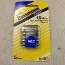 10 AMP BUSS FUSES BP/AGC-10