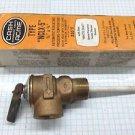 """Cash Acme Type NCLX-5 150 psi, 3/4"""" pressure relief valve """"white coat"""" element"""