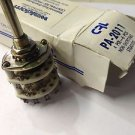 CENTRALAB,INC PA-2011 4 POL-6 POS NON SHORTING SWITCH
