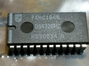 74HC154N PHILIPS CD74HC154 74HC154 24-PIN WIDE Plastic DIP IC