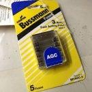 Cooper Bussmann fuses BP/AGC-3
