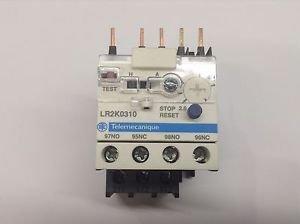 LR2K0310 Telemecanique Overload Relay 2.6 - 3.7A (New No Box)