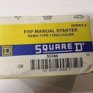 Square D 2510FG2P FHP Manual Starter New