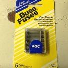 BUSS FUSES AGC CAR PHONE ENTERTAINMENT CB-5