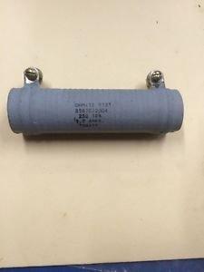 25 Ohm 75 Watt Tubular Ceramic Power Resistor 75W Ohmite 0131 10%, 8587C72G04