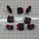 LED RED Indicators Light Bars T1 BILEVEL Dual L934MD/TEL24 Kingbright Qty10