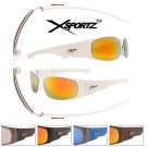 MEN'S DESIGNER INSPIRED WHITE SPORTY XSPORT SUNGLASSES