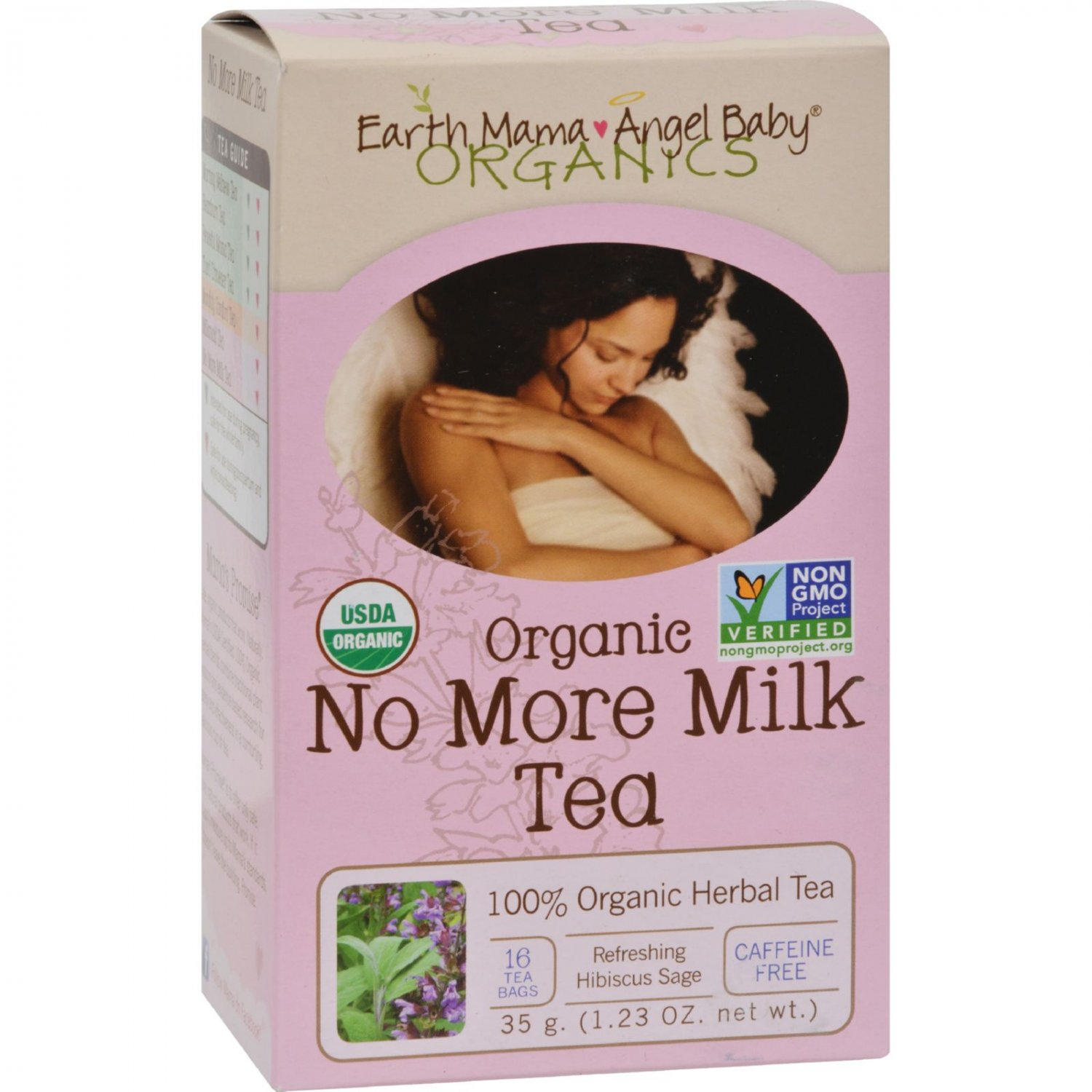 Earth Mama Angel Baby Organic No More Milk Tea - 16 Tea Bags