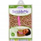 Summer Infant SwaddleMe Adjustable Infant Wrap - Small/Medium 7 - 14 lbs - Leopard