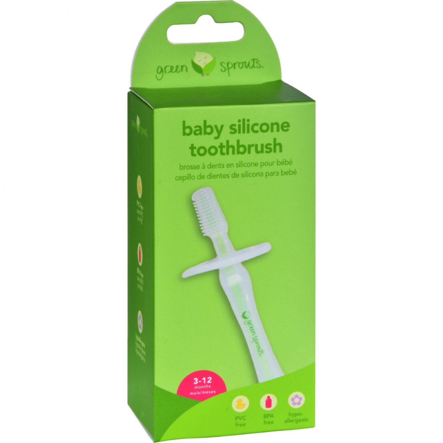 Green Sprouts Silicone Baby Toothbrush