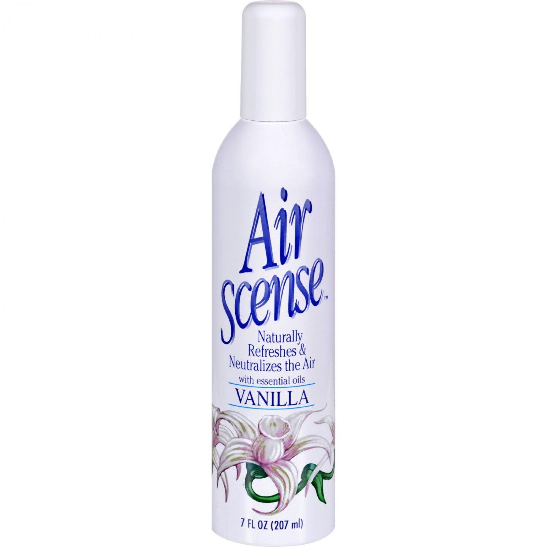 Air Scense Air Freshener - Vanilla - Case of 4 - 7 oz