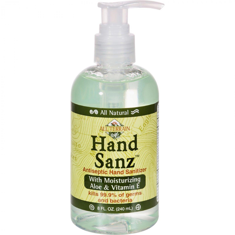 All Terrain All-Natural Hand Sanz - 8 fl oz