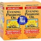 American Health Evening Primrose Oil - 1300 mg - 60+60 Softgels