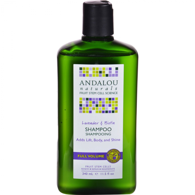 Andalou Naturals Full Volume Shampoo Lavender and Biotin - 11.5 fl oz