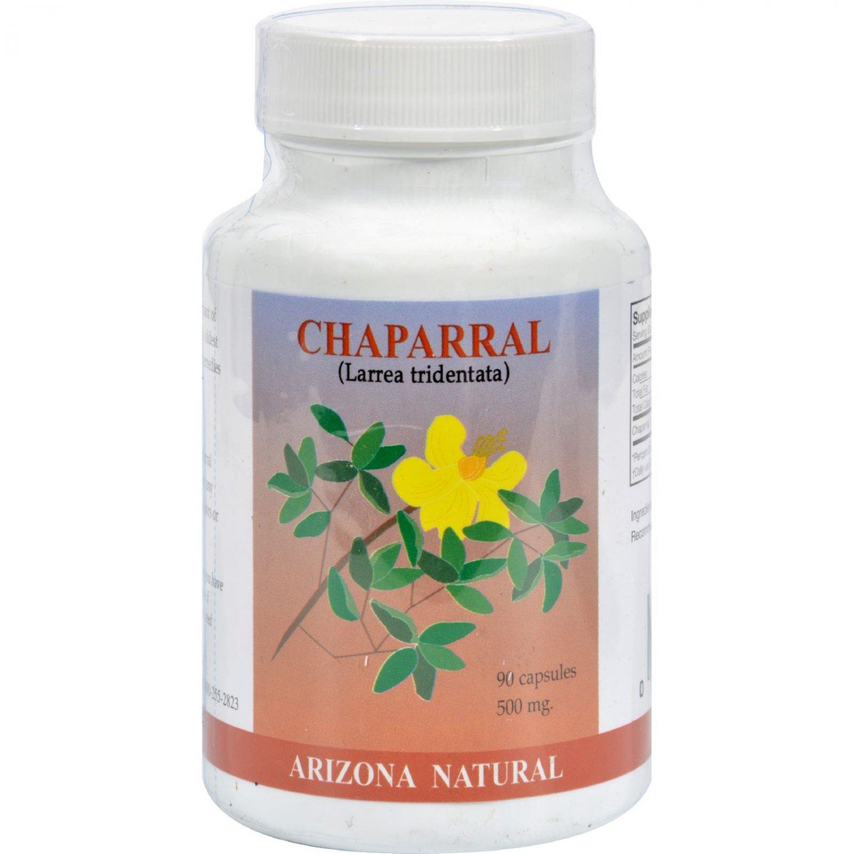 Arizona Natural Resource Chaparral - 500 mg - 90 Capsules