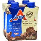 Atkins Advantage RTD Shake Dark Chocolate Royale - 11 fl oz Each / Pack of 4
