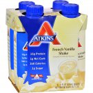 Atkins Advantage RTD Shake French Vanilla - 11 fl oz Each / Pack of 4