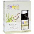 Aura Cacia Essential Oil Lavender - 0.5 fl oz - Case of 3