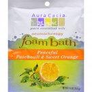 Aura Cacia Foam Bath Peaceful Patchouli and Sweet Orange - 2.5 oz - Case of 6